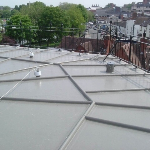 Flat Roof Polyroof Technology
